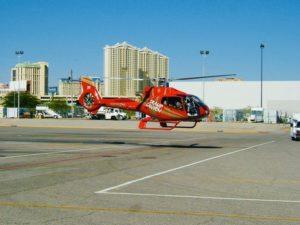 Helicoptero en Las vegas